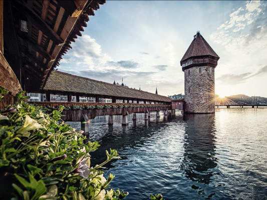 How about a short trip to Lucerne, for example? The city has never been so relaxed as this year.
