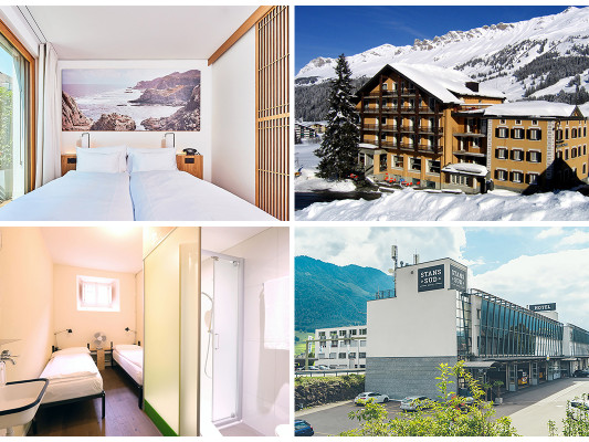 Are you looking for alpine charm, modern chic, urban design or a very unusual place to stay? Then we