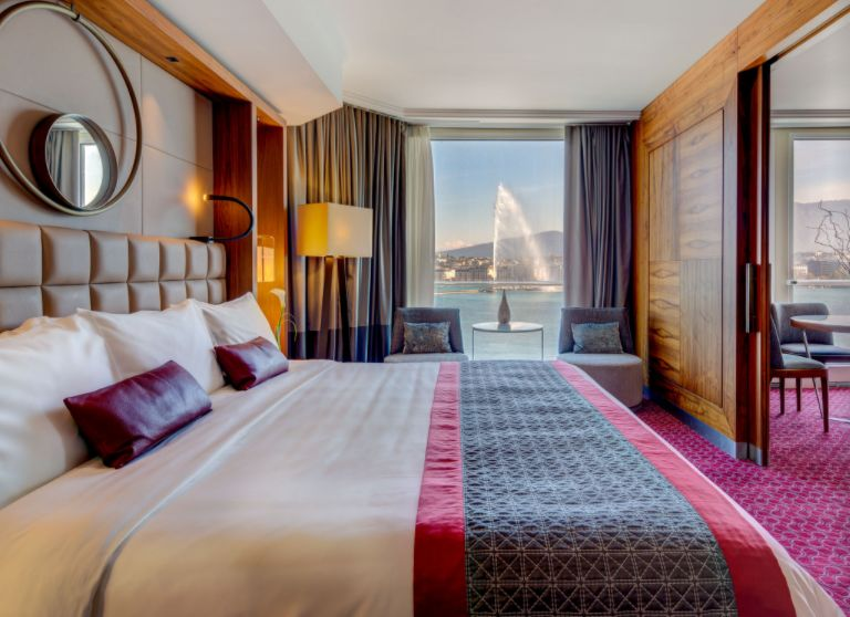 - The Fairmont Grand Hotel Geneva, a lively after work entertainment complex, a luxurious staycation o