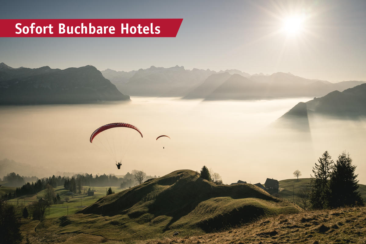Immediately bookable %-hotels for the coming weekend - Our last minute tips for the coming weekend! Meteo-Switzerland is expecting fantastic autumn weather