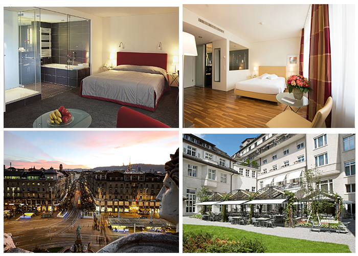 Unbeatable offer from the 4-star superior hotel Glockenhof in Zurich - The Glockenhof in Zurich is making a sensational special offer for all Hotelcard members. If you boo