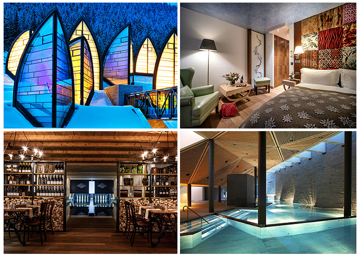 One of the best Swiss hotels opens for the winter season - The 5* Tschuggen Grand Hotel is situated in a spectacular alpine location in Arosa at 1,800 m above
