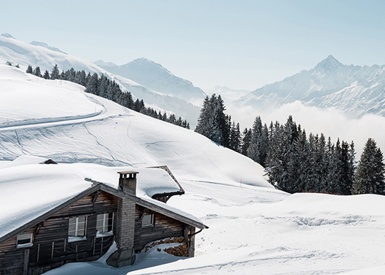 New Blogpost: Winter Paradise Switzerland -