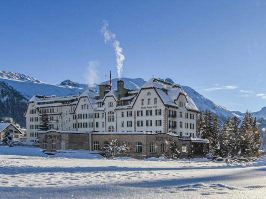 Da questa settimana puoi prenotare l'Hotel Cresta Palace 4* Superior a Celerina con la Hotelcard fin