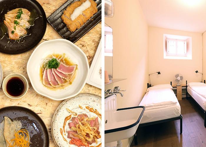 Expérience de la prison avec des délices japonais - Séjournez dans l'une des anciennes cellules de la prison et profitez d'un emplacement unique au cœ