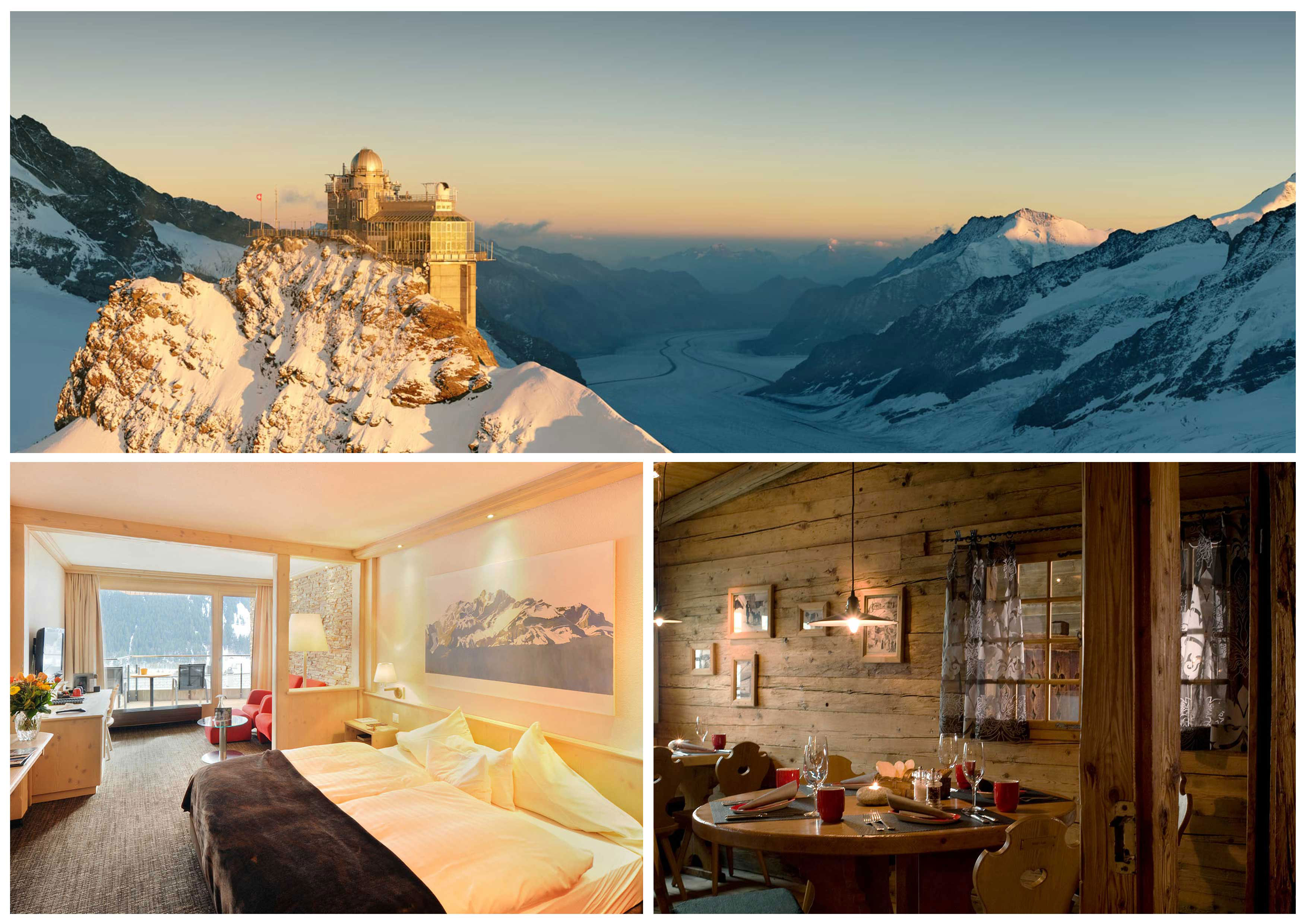 """The Jungfrau Region: A world of its own - Not for nothing do we describe the Jungfrau Region as """"A world of its own"""". Situated in the Bern"""
