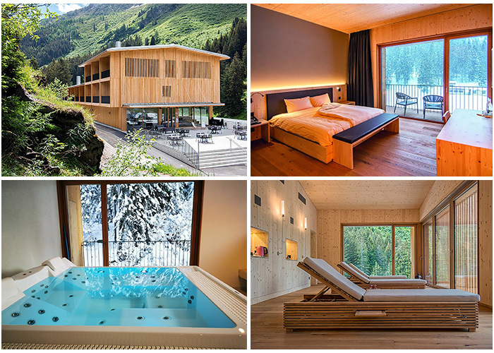 The Campra Alpine Lodge & Spa: Where tranquility can be found - If you are looking for a quiet and authentic accommodation, the Campra Alpine Lodge & Spa is gua