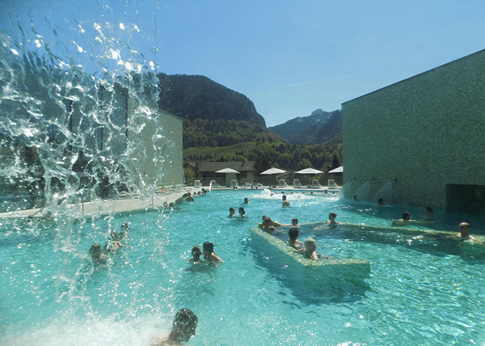 Hotels in Fribourg Region - Les Bains de la Gruyère  In the wellness oasis