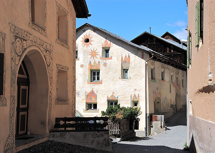 Hotels in Grisons - Scuol  In the border triangle between Austria, Italy and Switzerland lies the Lower Engadine with th