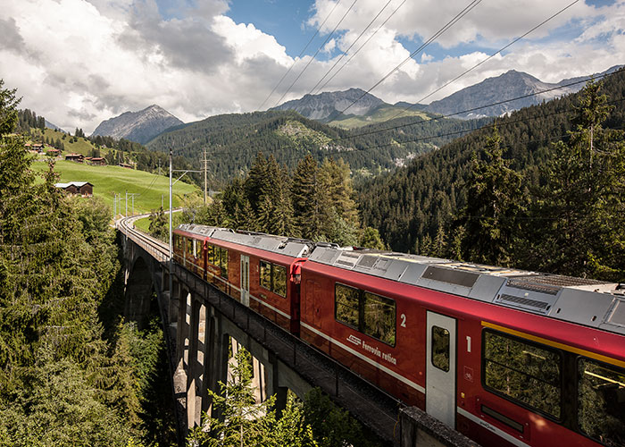 Hotels in Grisons - Bernina Express and Glacier Express  The world-famous Bernina Express is a UNESCO World Heritage Sit