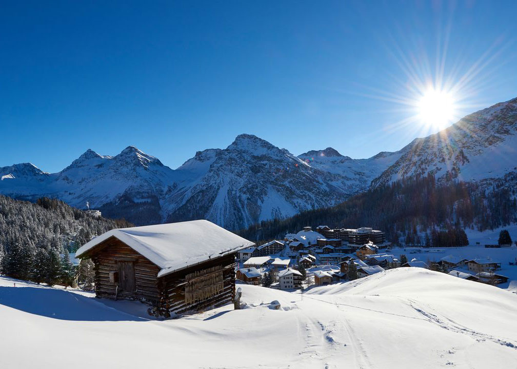 Hotels in Grisons - Arosa / Lenzerheide  43 ski lifts, gondolas and chairlifts ensure that skiers in Arosa-Lenzerheide h
