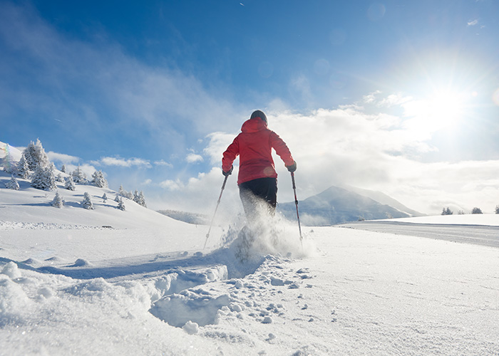 Hotels in Grisons - Snowshoeing  More than 2,000 years ago, people were already using snowshoes, i.e. two plates with a