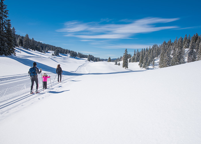 Hotels in Jura and Three-Lakes - Cross-country skiing in the Vallée de Joux  With the Vallée de Joux, one of the largest cross-coun