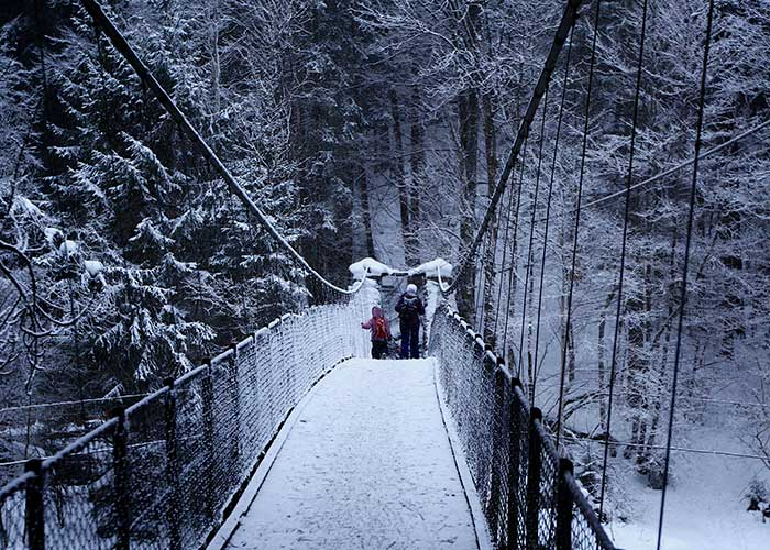 Region Genfersee - Winter hike on snowshoes  For those who want to hike in winter, we recommend the snowshoe hike