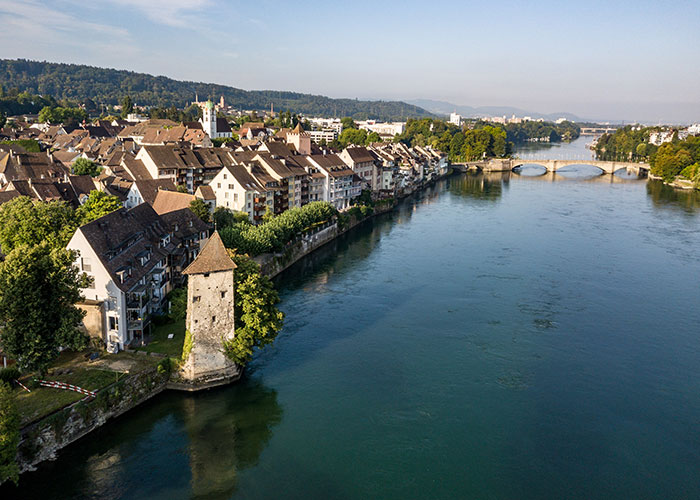 Hotels in Basel Region - Rheinfelden  Water and beer: these are the main reasons to visit Rheinfelden, along with the histori