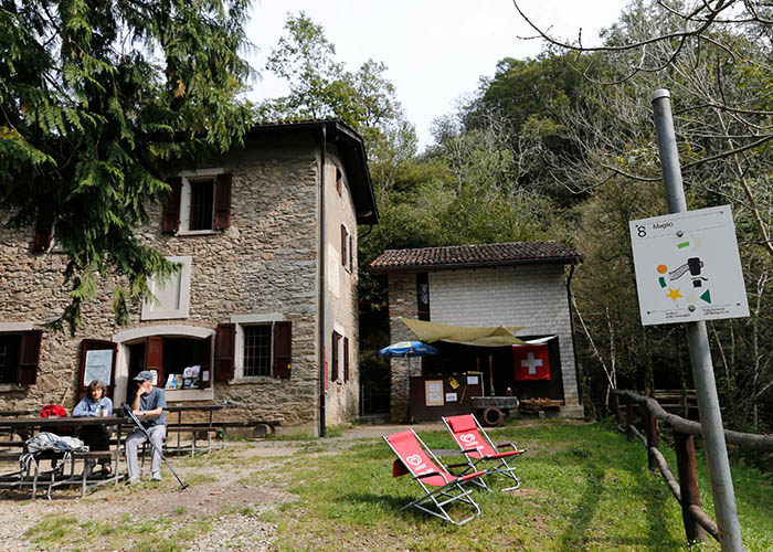 Hotels in Ticino - The Path of Marvels  This approximately 6.5-km long themed circular walk in the Malcantone region wi