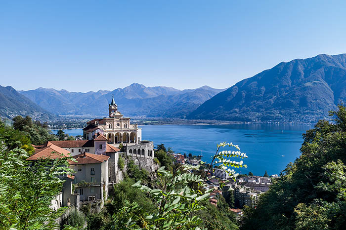 Hotels in Ticino - Locarno  As well as being the Canton of Ticino's third-largest town, Locarno is also one of the th