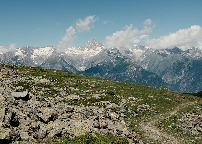 Hotels in Valais - From the Moosalp Pass up the Augstbordhorn mountain This hike, which is considered an insider tip am