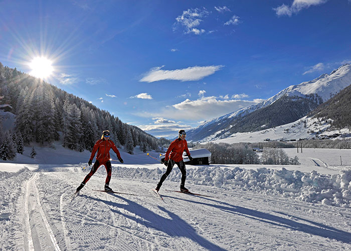 Hotels in Valais - Cross-country skiing in the Goms district One of the most famous, popular and largest cross-country