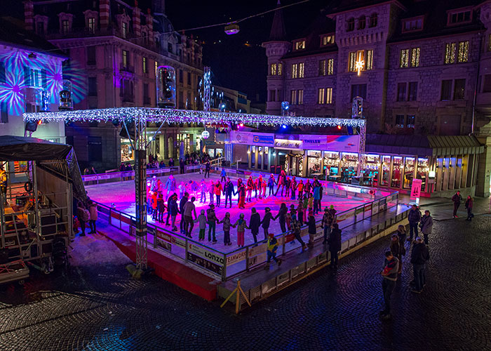 Hotels in Valais - Skating in Brig Brig has one of the region's most attractive ice rinks. It is located in the town