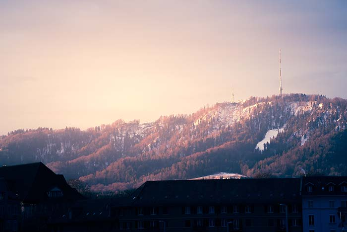 Zurich Region - Winter magic on Zurich's local mountain  Zurich's local mountain, the Uetliberg, is not only worth a