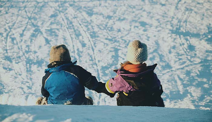 Zurich Region - Sledding on the Hörnli  With its 1,133 m above sea level, the Hörnli is one of the highest points