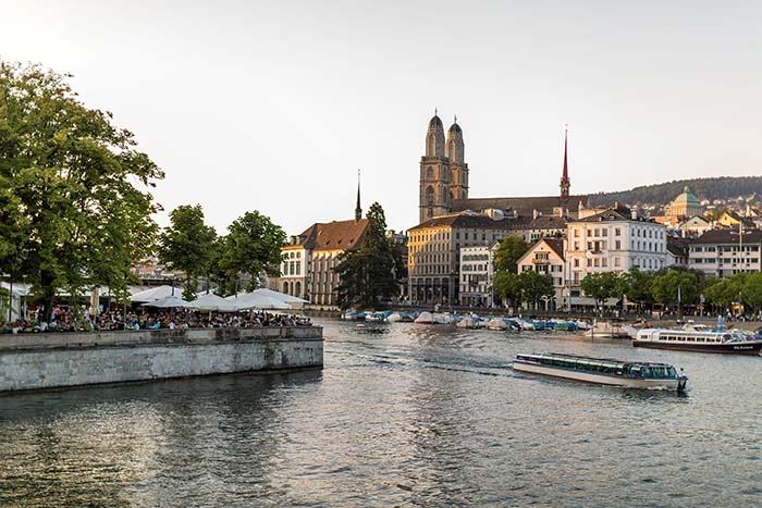 Zurich Region - With the oldest steamboat in Switzerland across the Greifensee  Not only in Lake Zurich, but also fo