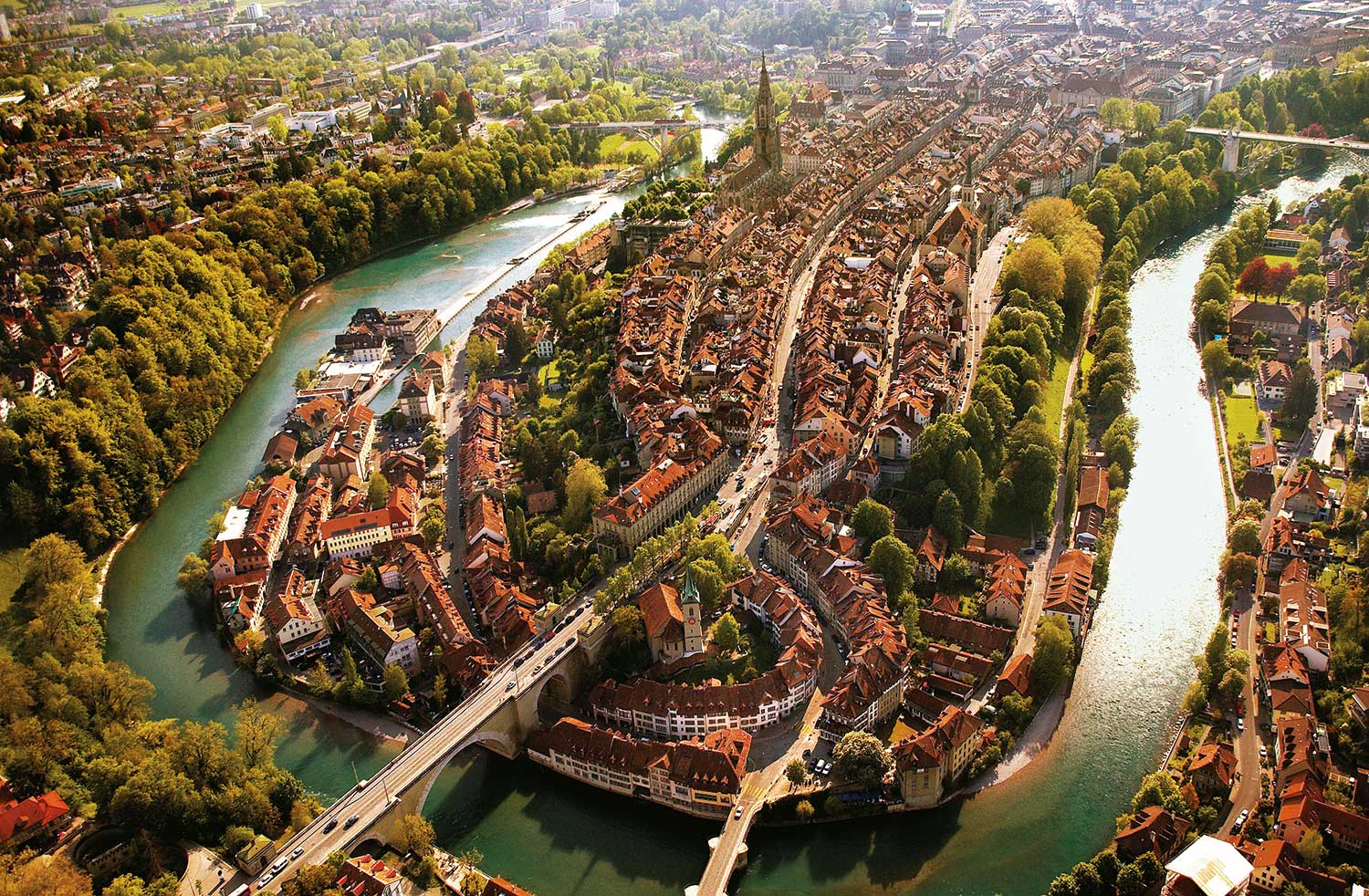 Hotels in Bern Region - Full of attractions Bern is the Swiss Federal City, the surrounding region of Bern is one of the cen