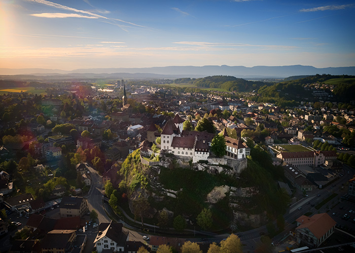 Bern Region - Burgdorf BE  The small town of Burgdorf, first mentioned in 1175, delights visitors with its pretty