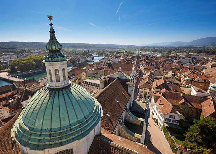 Hotels in Bern Region - Solothurn  The small town of Solothurn with its 17'000 inhabitants is often called the most beautifu