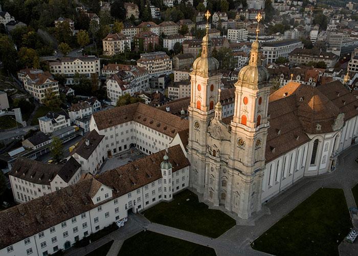 Hotel in Svizzera Orientale/Liechtenstein - Il complesso abbaziale, patrimonio mondiale UNESCO  L'abbazia di San Gallo, patrimonio mondiale dell